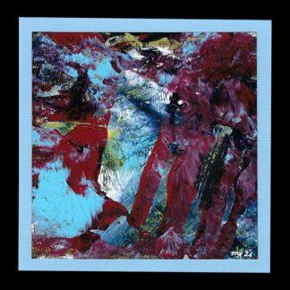 Acryl Kunstkarte Nummer 41